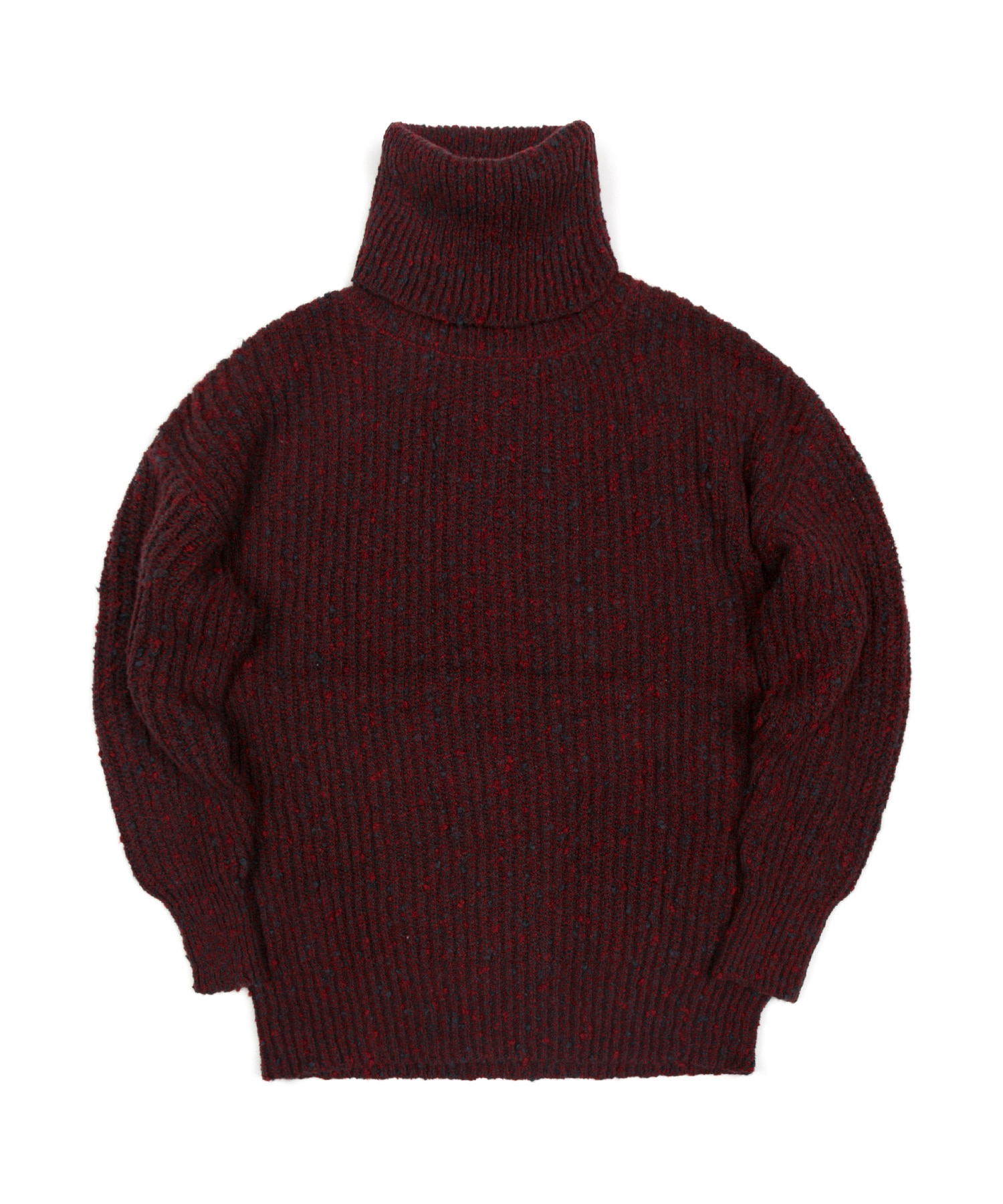RELAX LONG TURTLENECK - WINE