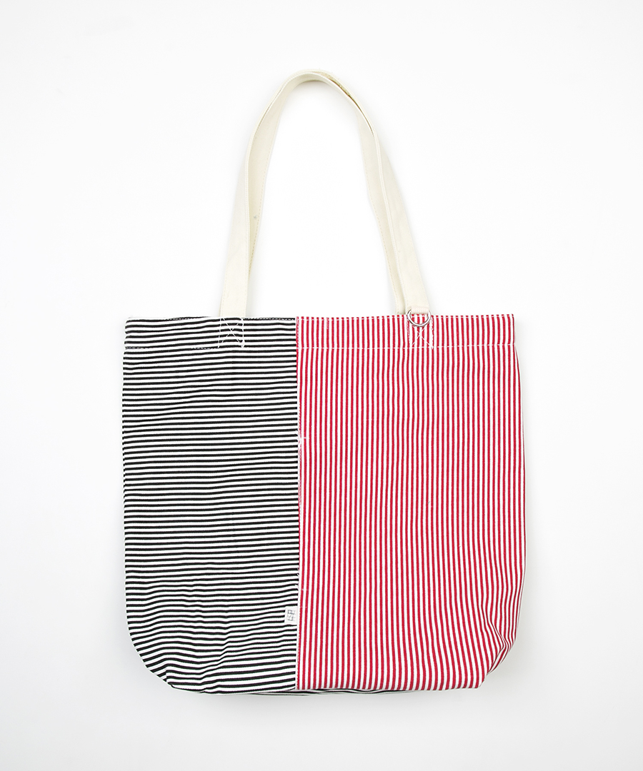 STRIPE PATTERN ECO BAG