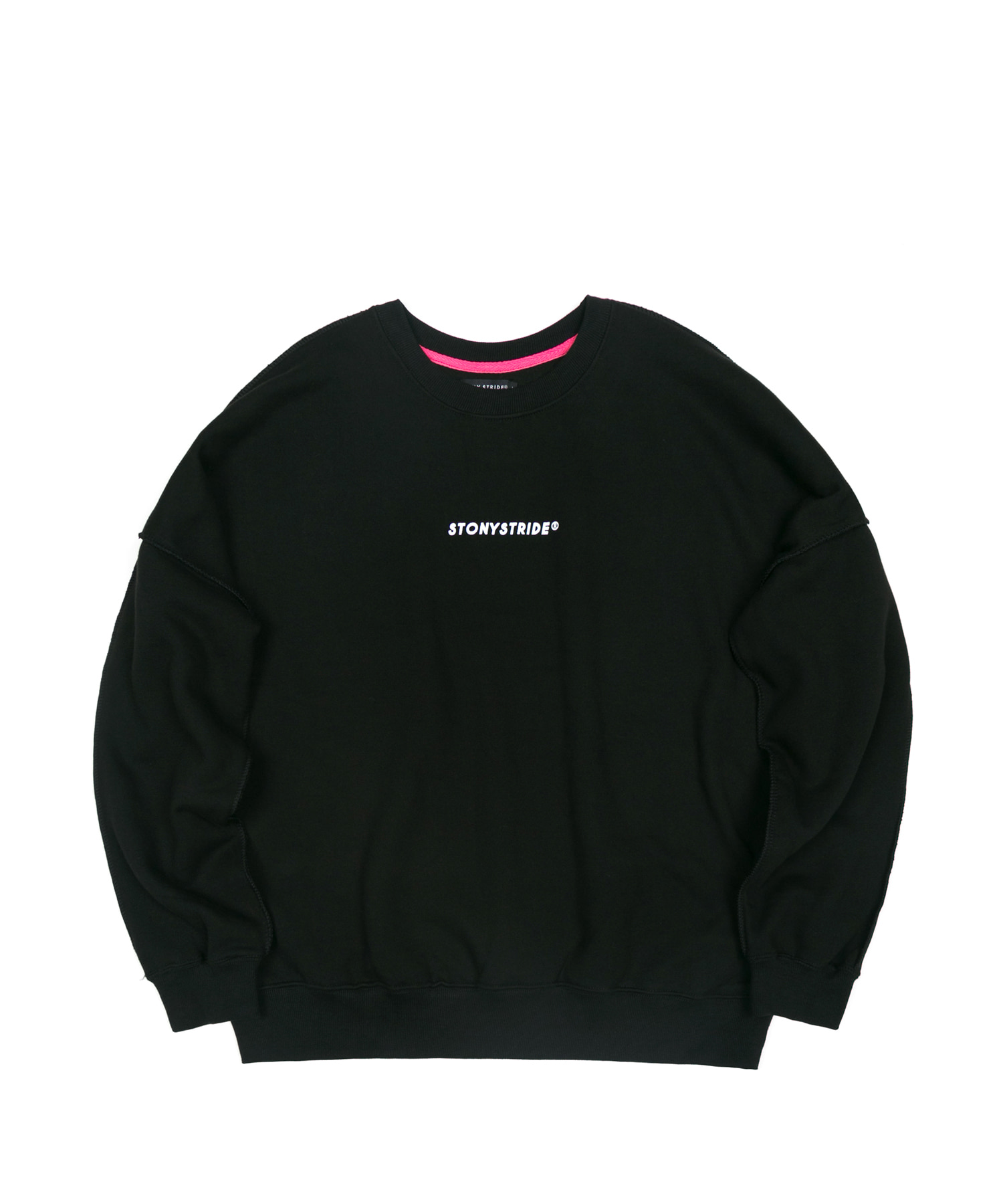 LOGO CREWNECK - BLACK
