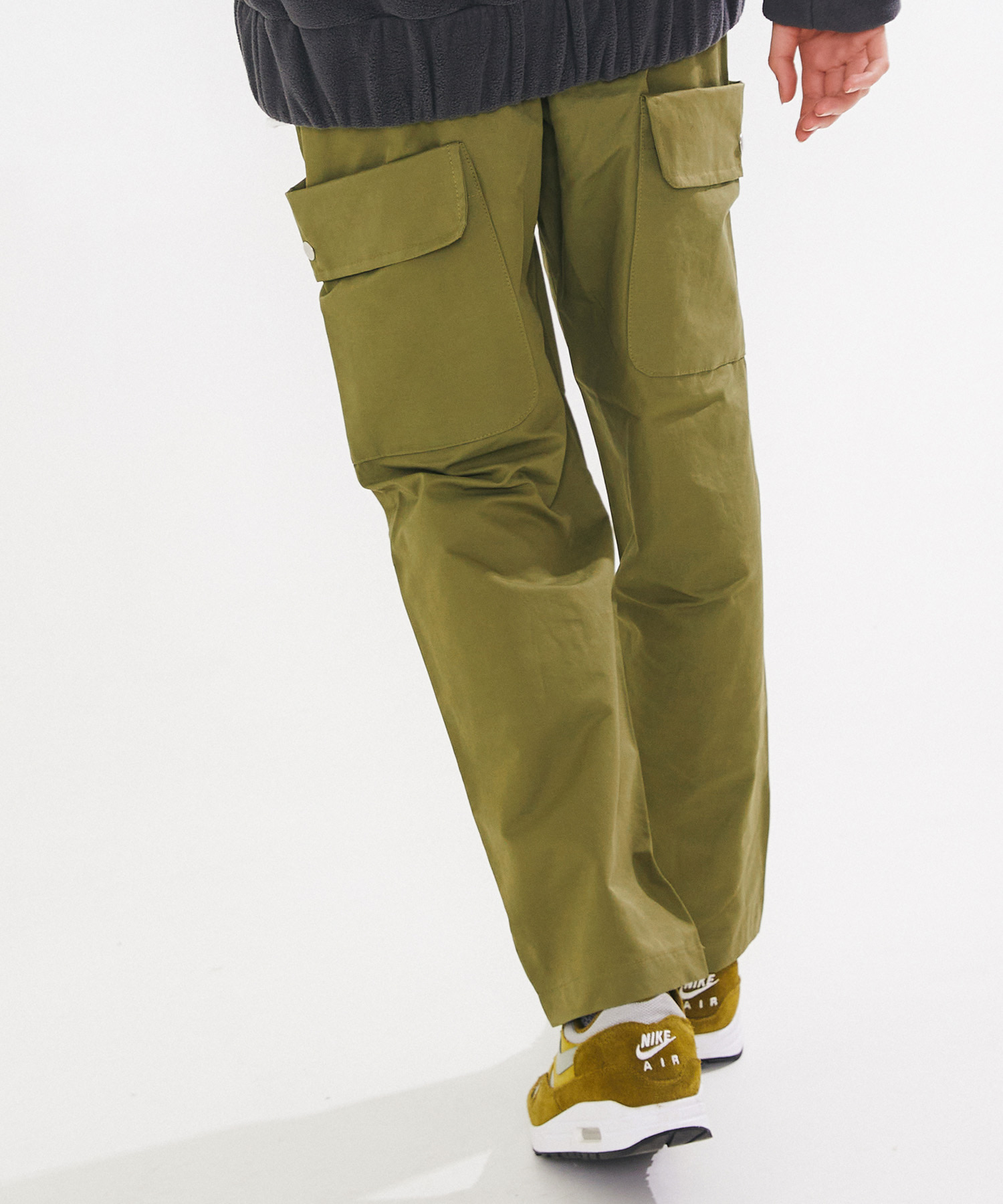 BIG POCKET WIDE CARGO – OLIVE